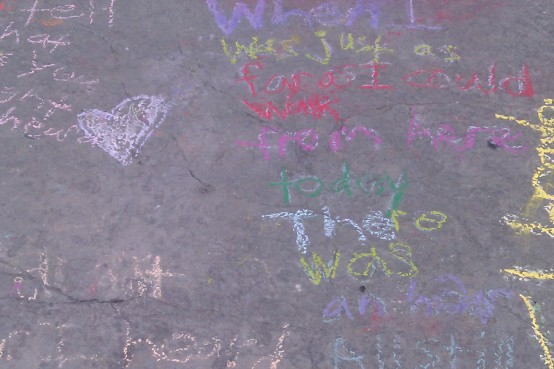 chalk poetry