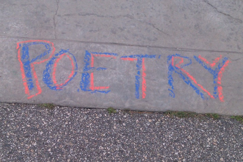 poetry red blue