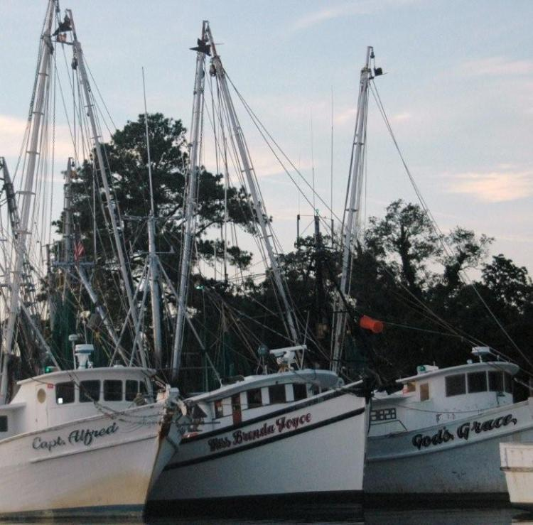 God's Grace shrimp boat