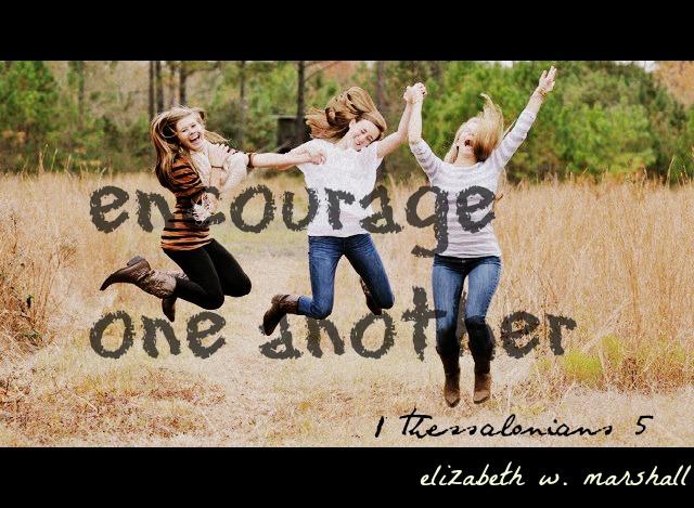 encouragement the girls