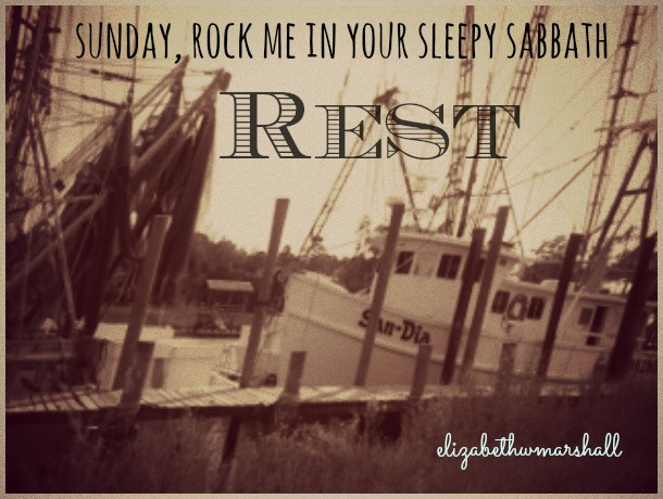 shrimp boats sabbath rest