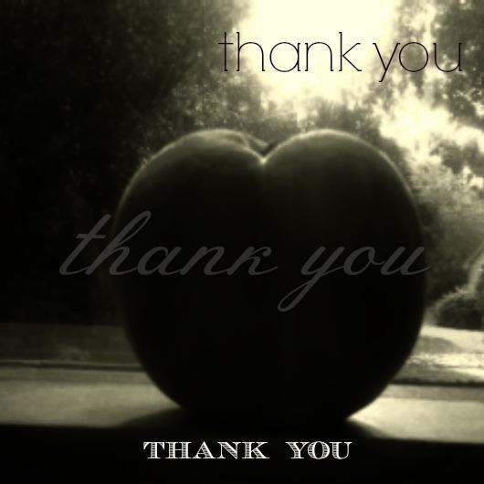 thank you peach