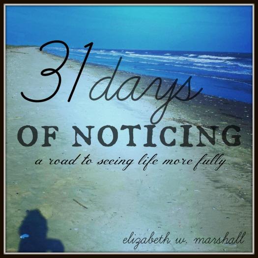 31 days of notiing